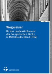 Wegweiser LKA Aktualisierung April 2013 - Evangelische Kirche in ...