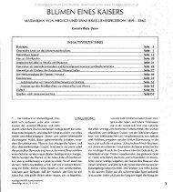 BLUMEN EINES KAISERS