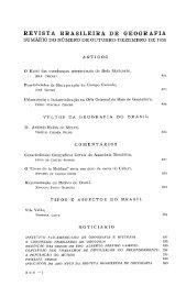 REVISTA BRASILEIRA DE GEOGRAFIA - Biblioteca IBGE