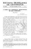 REVISTA BRASILEIRA DE GEOGRAFIA - Biblioteca IBGE - Page 2