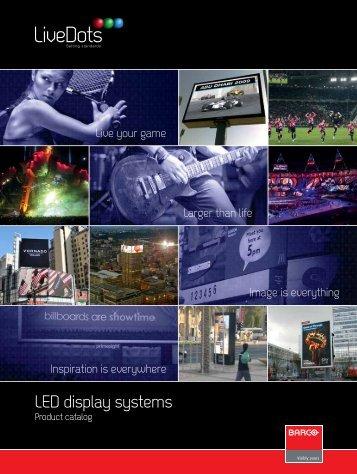 Download LED catalog - Barco