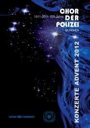 Chor der Polizei München - Gemischter Chor der Polizei Berlin e. V.