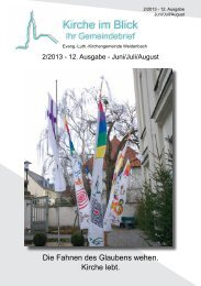 Ausgabe 12: 2/2013 - Juni/Juli/August (pdf-Dokument)