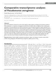 Comparative transcriptome analyses of ... - Human Genomics