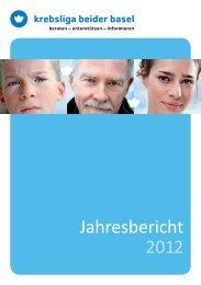KLBB Jahresbericht 2012 - Krebsliga Schweiz
