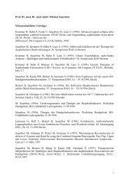 Instruktionskurse von Prof. Sauerbier als pdf zum Download