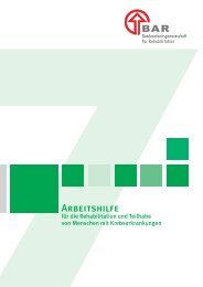 Download der Broschüre - BAR