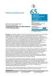 PM Patientenforum.pdf - DGU-Kongress