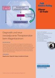 Falk Gastro-Kolleg Oberer GI-Trakt - Dr. Falk Pharma GmbH