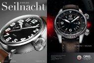 Juwelier Seilnacht | Uhren und Schmuck Magazin als PDF