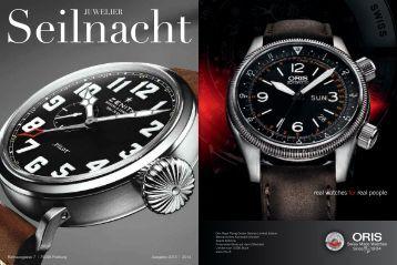 Juwelier Seilnacht   Uhren und Schmuck Magazin als PDF