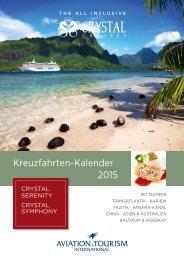 Kreuzfahrten-Kalender 2015 - Exklusive Kreuzfahrten
