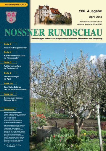 April 2013 - nossner-rundschau.de