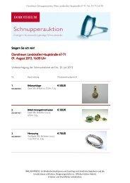 Schnupperauktion Wien Landstrasse 20130801 Web - Dorotheum