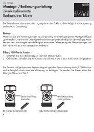 Montage- / Bedienungsanleitung ... - HUMMEL AG