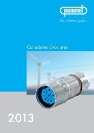 Conectores de comando M 23 / Receptáculo - Hummel AG