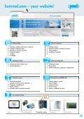 HSK Kabelové vývodky pro specielní použití - HUMMEL AG - Page 3