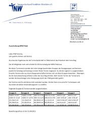 Anschreiben NRW Pokal 2014 - TNW