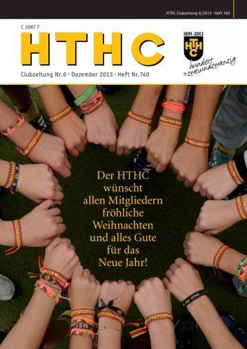 Der HTHC wünscht allen Mitgliedern fröhliche Weihnachten und ...