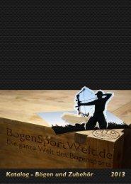 Download des Kataloges als pdf (20MB) - BogenSportWelt.de