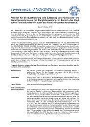 Kriterien Erwachsenen Turniere (Stand 1.10.2013) - nwe-tennis.de