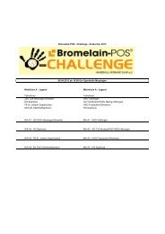 Bromelain Finale Gesamtspielpan - DJK Roden Handballabteilung