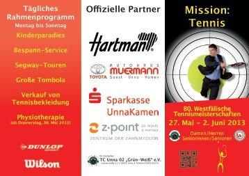 Mission: Tennis - Tennisclub Unna 02