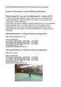 Intensiv-Tenniskurse in den Weihnachtsferien - TENNISSCHULE ... - Seite 2