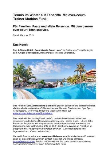 Pdf Tennis auf Teneriffa mit Mathias A. Funk - Ever-Court GmbH ...