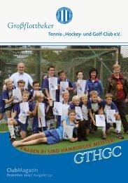 GTHGC Dezember 2013 - Grossflottbeker Tennis- Hockey