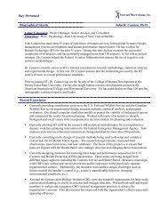 Key Personnel Biographical Sketch John R. Cannon, Ph.D. Recent ...