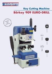 Key Cutting Machine Börkey 909 EURO-DRILL