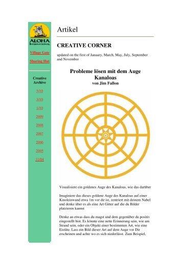Probleme lösen mit dem Auge Kanaloas - Huna.org