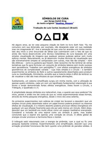 Símbolos de Cura - Huna.org