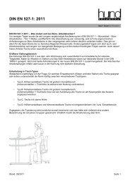 DIN EN 527-1: 2011 - Hund Büromöbel GmbH