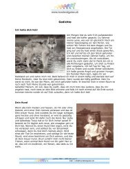 PDF Gedichte - Hunderatgeber