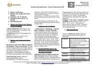 Kurse Frühsommer 2011 1. Welpen alle Rassen 2.