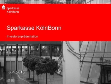 Jetzt informieren. - Sparkasse KölnBonn
