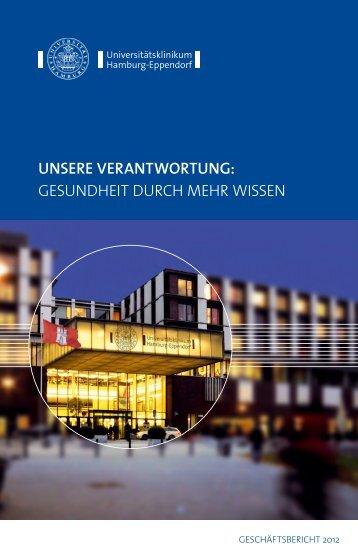 UKE GEschäftsbEricht 2012 - Universitätsklinikum Hamburg ...