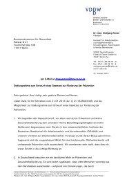 vollständige Stellungnahme - Verband Deutscher Betriebs- und ...