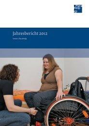 Jahresbericht 2012 (PDF, 4.5 MB) - Schweizer Paraplegiker-Gruppe