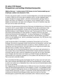 Festansprache im Wortlaut (PDF-Dokument) - VCD