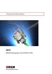MICE - R&M