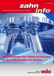 Zahn Info September 2013 - Wiener Gebietskrankenkasse