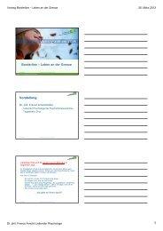 Folien zum Vortrag (PDF) - PDGR