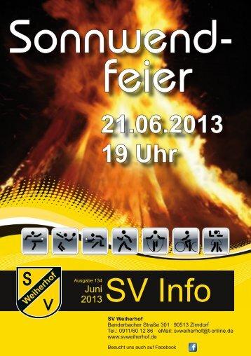 SV Info - SV Weiherhof