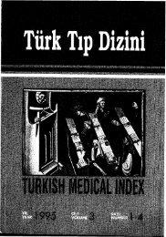 ISSN 1300-7602 TÜRKİYE BİLİMSEL VE TEKNİK ARAŞTIRMA ...