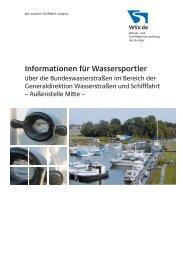 Informationen für Wassersportler 2013 - WSV