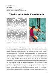 Täterintrojekte in der Kunsttherapie (Renate Stachetzki)