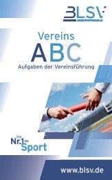 Vereins ABC des BLSV - Aufgaben der Vereinsführung